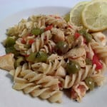 Vegetable and Crabmeat with Pasta