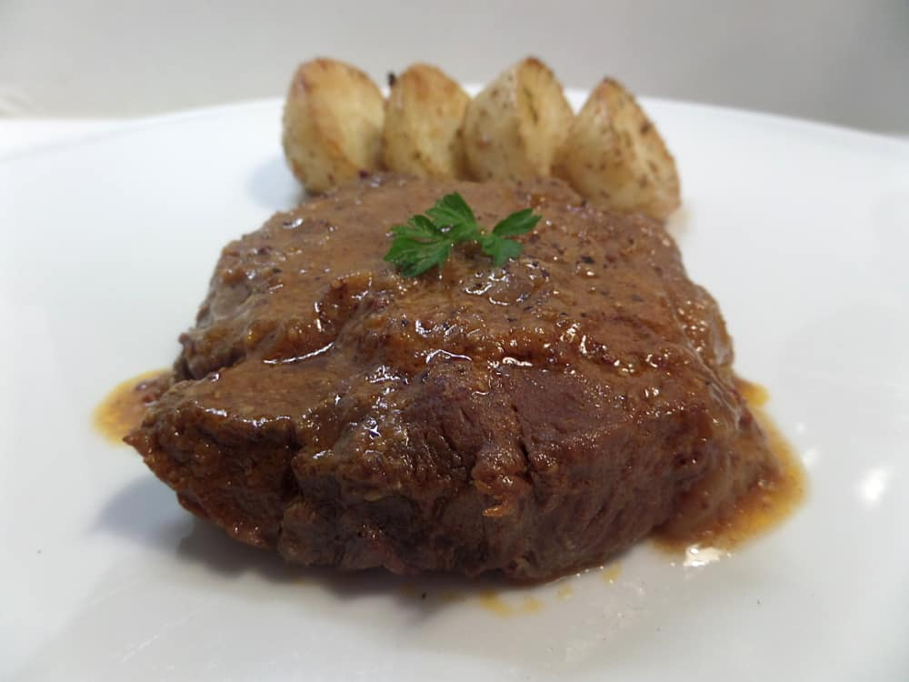 Juicy Tender Beef Round Steak