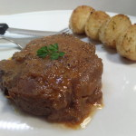 Mustard Marinated Tender Beef Round / Blade Steak