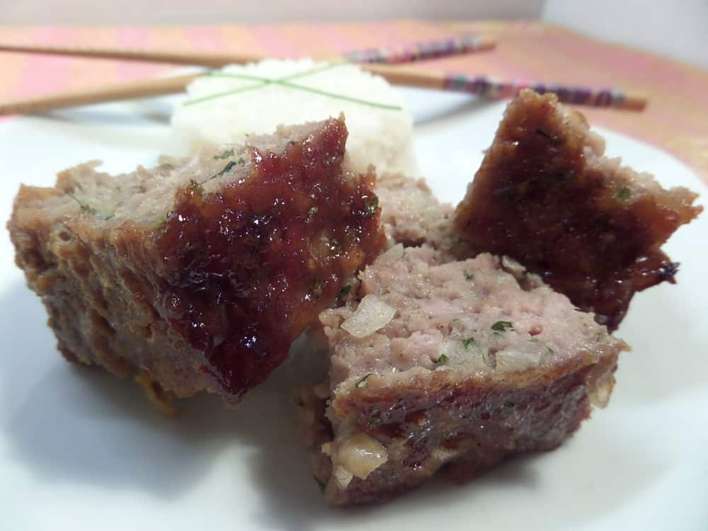 Asian Inspired Style Pork Meatloaf
