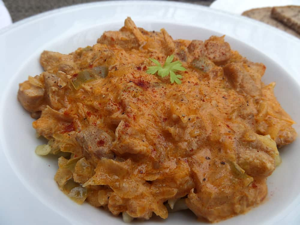 goulash southern goulash veal goulash with sauerkraut veal stew $ 14 ...