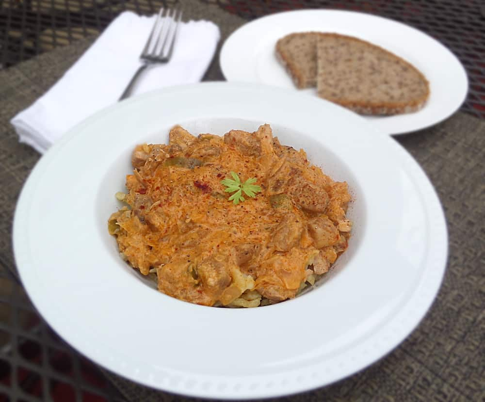 Pork and Sauerkraut Goulash / Szekelygulyas Hungarian