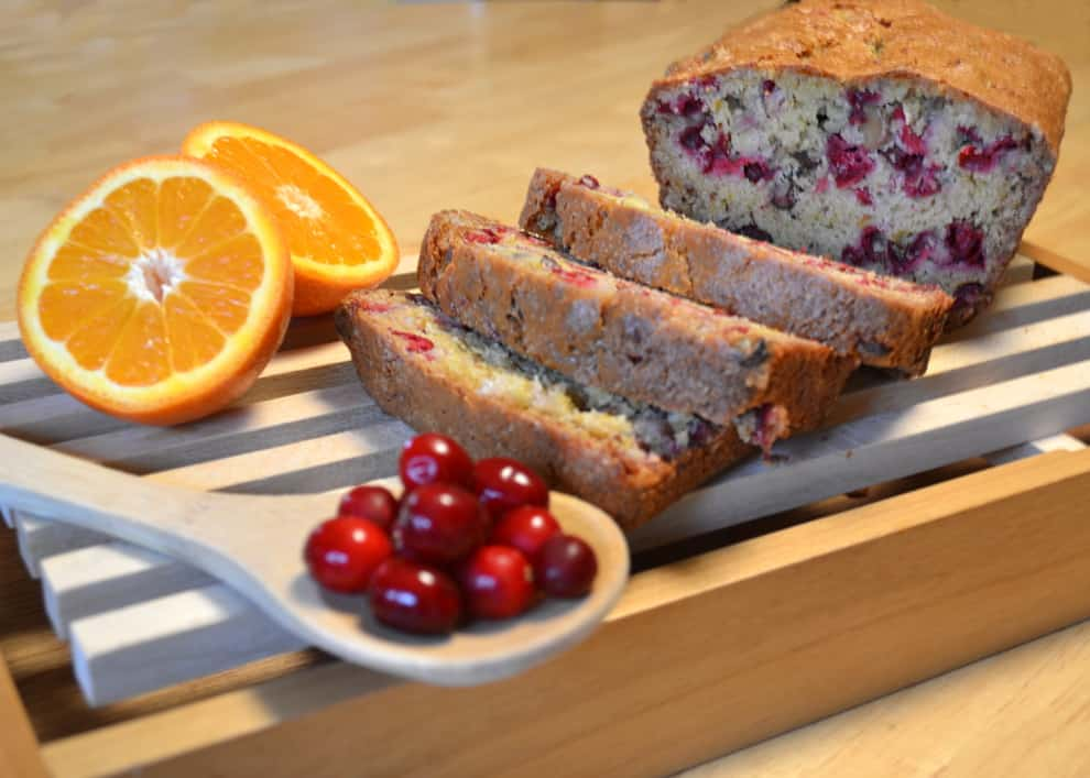 Orange Cranberry Nut Bread - craftycookingmama.com
