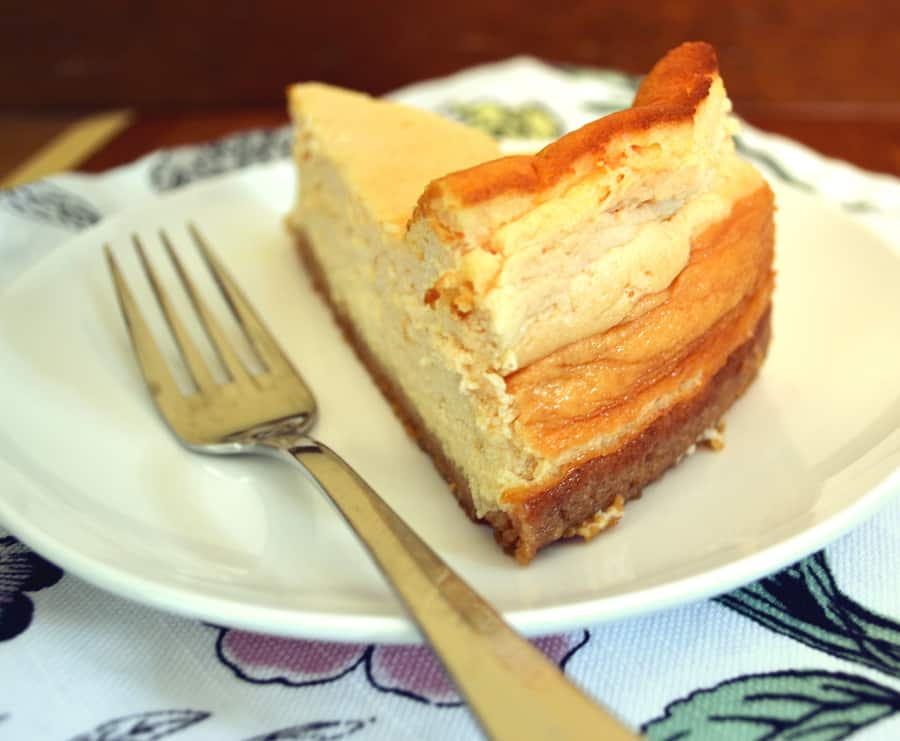 Käsekuchen - German Quark Cheesecake - craftycookingmama.com