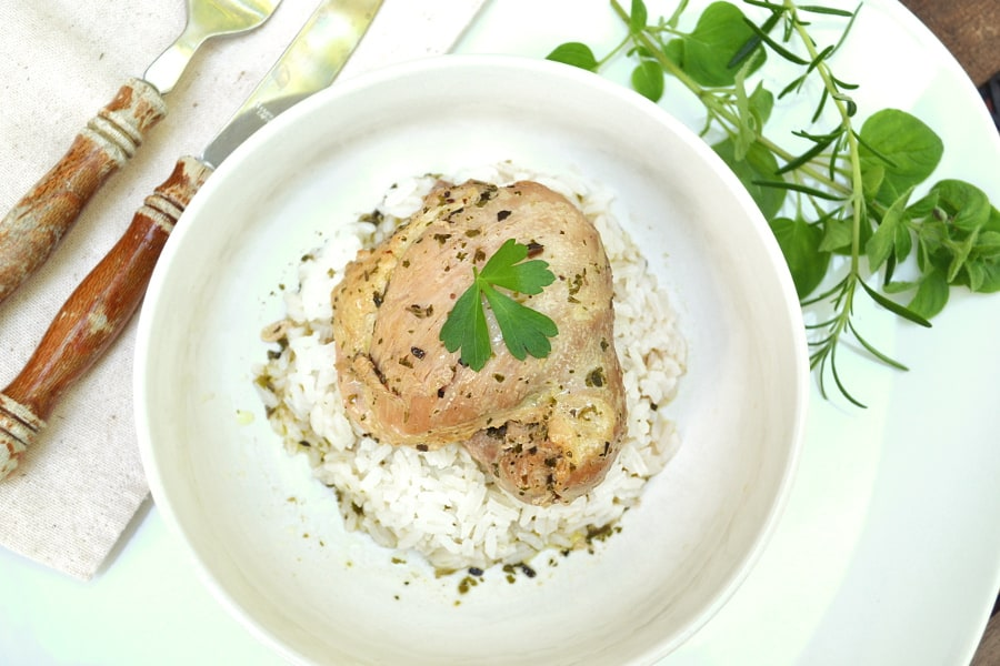 Bay Chicken | 8 Bay Leaf Chicken | Bold & Exotic Flavor Made with Basic On Hand Herbs & Spices | Simple & Quick | craftycookingmama.com