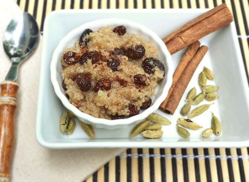 Creamy Coconut Milk Vegan Couscous Pudding - Lazy Day Rice Pudding - Warm Creamy Vegan Couscous Pudding - craftycookingmama.com