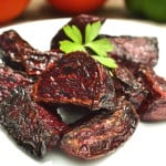 Simple & Delicious Roasted Fresh Red Beets | craftycookingmama.com