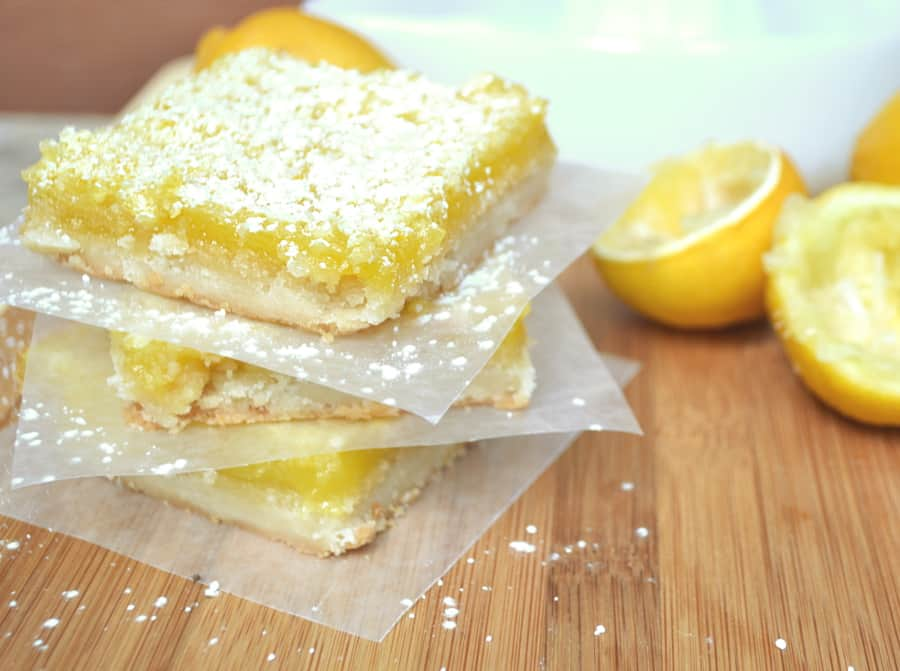 You'll love how easy it is to make these sweet, tart, zingy lemon bars with a crumbly, buttery shortbread crust | A delicious & fancy dessert | craftycookingmama.com