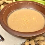 Rich, Creamy, Savory Peanut Soup | Enjoy the Warm & Sophisticated Side of Peanut Butter | craftycookingmama.com