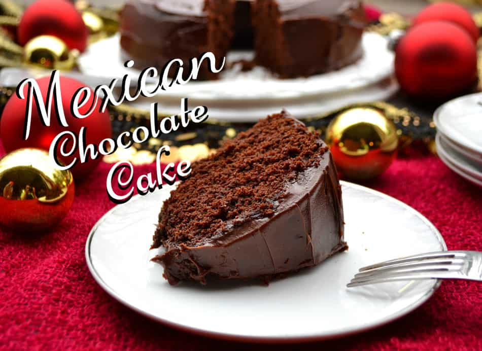 Mexican Chocolate Cake & Ganache #NestleHoliday
