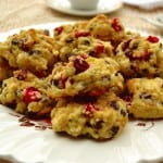 Cranberry Chocolate Chip Drop Scones | Easy, Quick, No Knead Scones | Tea Time or Anytime Scones | www.craftycookingmama.com