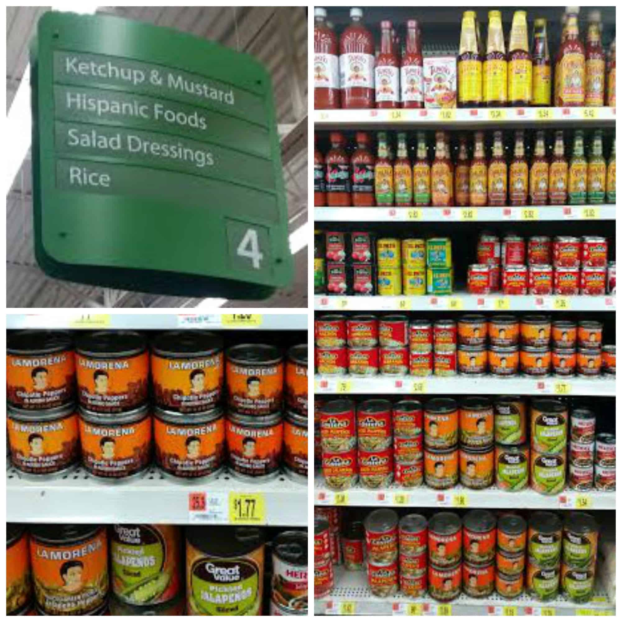 La Morena Chipotle Peppers Walmart Store Shot