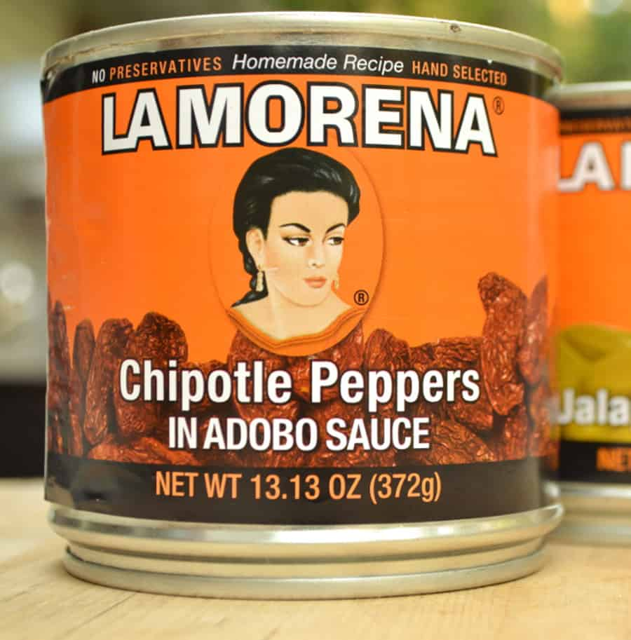 La Morena Chipotle Peppers in Adobo Sauce | Homemade Chipotle Hot Sauce Recipe | www.craftycookingmama.com