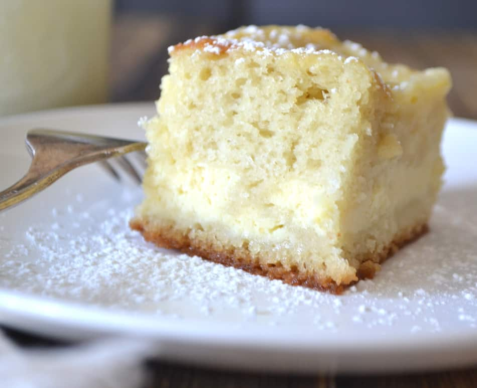 Ricotta Layer Cake | Easy Yellow Ricotta Cake | www.craftycookingmama.com