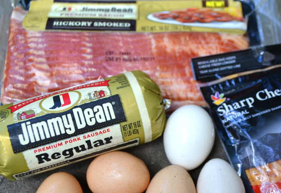 Jimmy Dean sausage & bacon breakfast recipes