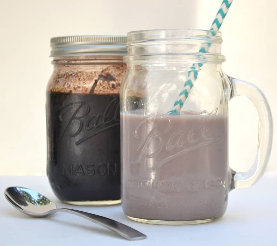 Homemade Chocolate Syrup for Chocolate Milk - Just like Hershey's | www.craftycookingmama.com