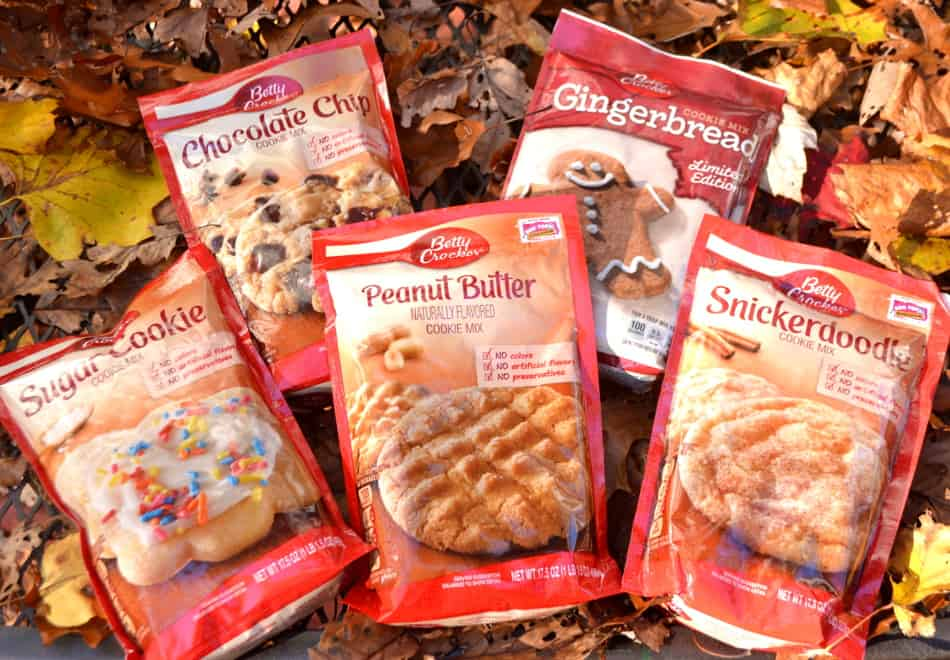 Betty Crocker Cookie Mixes | www.craftycookingmama.com