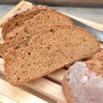 Simple, delicious, all purpose rye bread | www.craftycookingmama.com