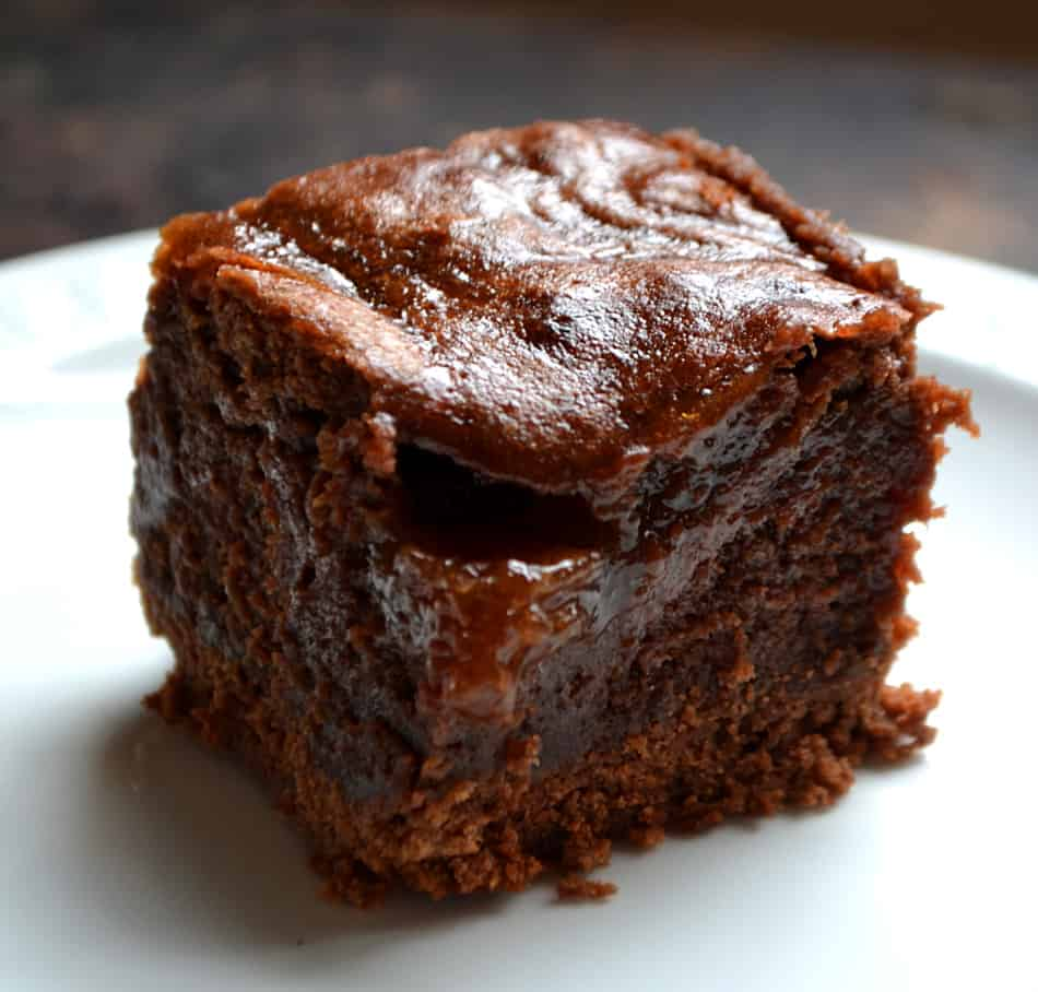 Rich, Gooey, Chewy Fudgy Jam Brownies | www.craftycookingmama.com