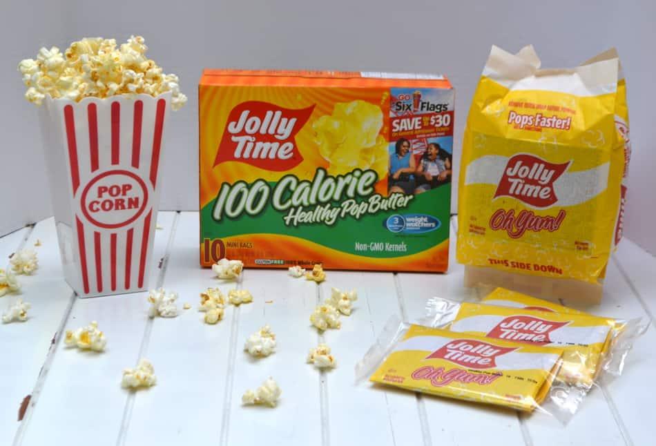 Jolly Time Popcorn | www.craftycookingmama.com