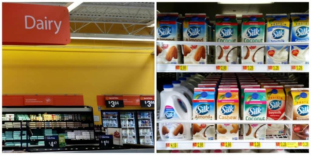 Silk Almond Milk at Walmart