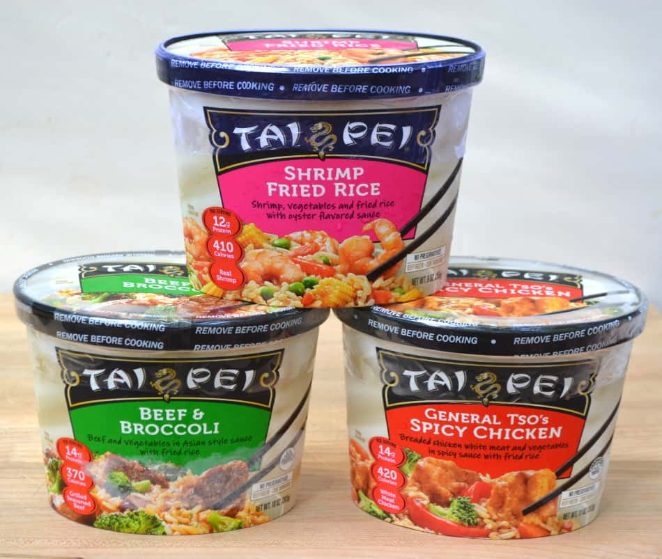 Tai Pei® Single Serve Entrées at Walmart | www.craftycookingmama.com