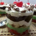 Easy Spumoni Pudding Dessert - Italian Spumoni Pudding - National Spumoni Day - craftycookingmama.com