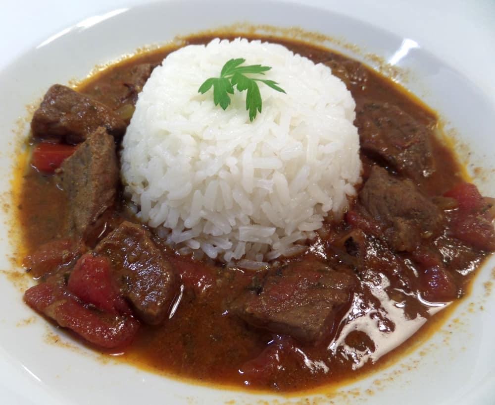 Simple Beef Curry Korma