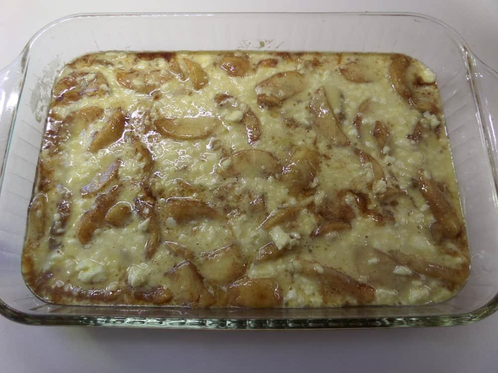 Oven Baked Pancake Batter