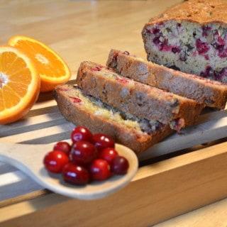 Orange Cranberry Nut Bread - craftycookingmama.com