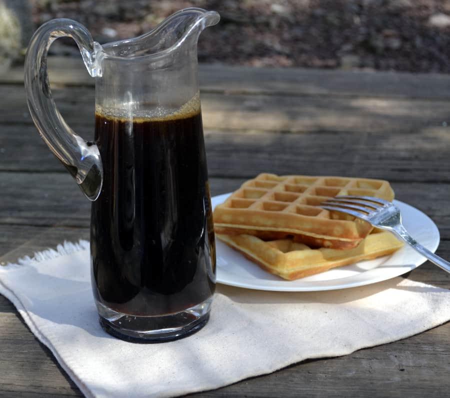 DIY Breakfast Pancake Syrup - craftycookingmama.com