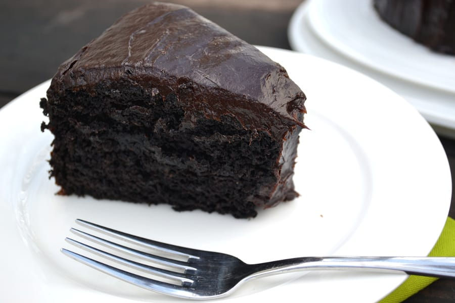 Vegan Chocolate Cake With Avocado