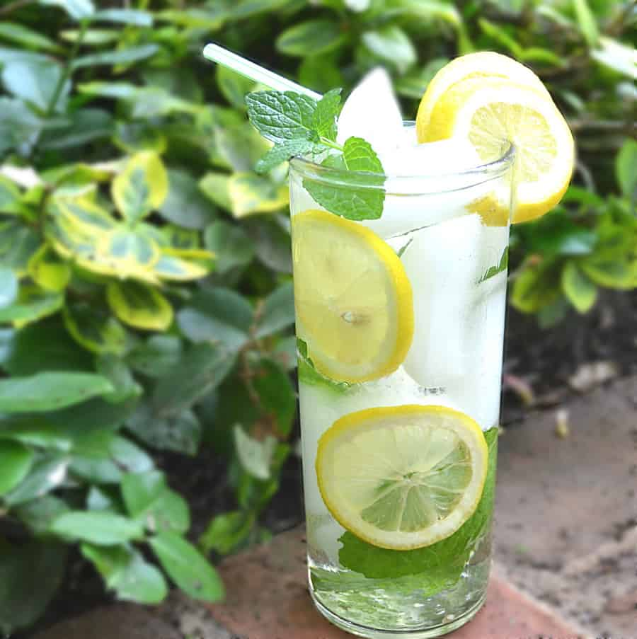 What To Do With Fresh Mint - PA Dutch Meadow Tea - Amish/Mennonite Fresh Mint Iced Tea - Lancaster County - craftycookingmama.com
