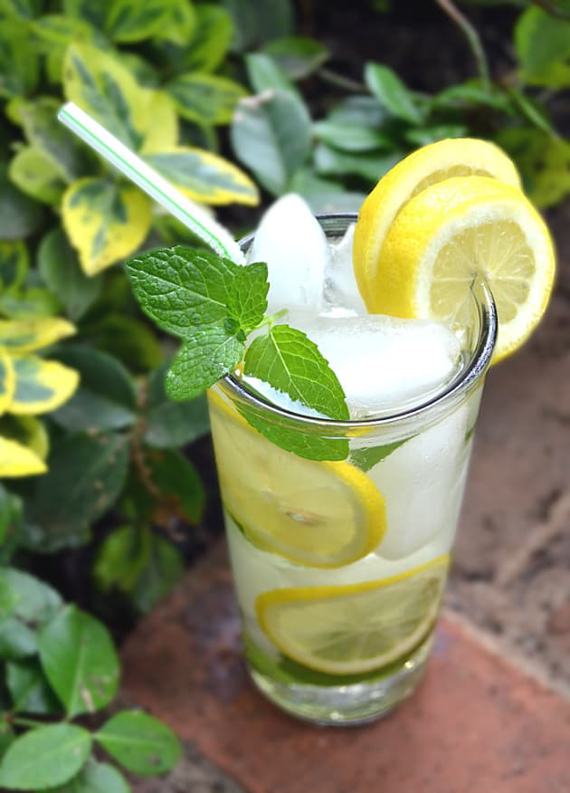 PA Dutch Meadow Tea - Amish/Mennonite Fresh Mint Iced Tea - Lancaster County - craftycookingmama.com