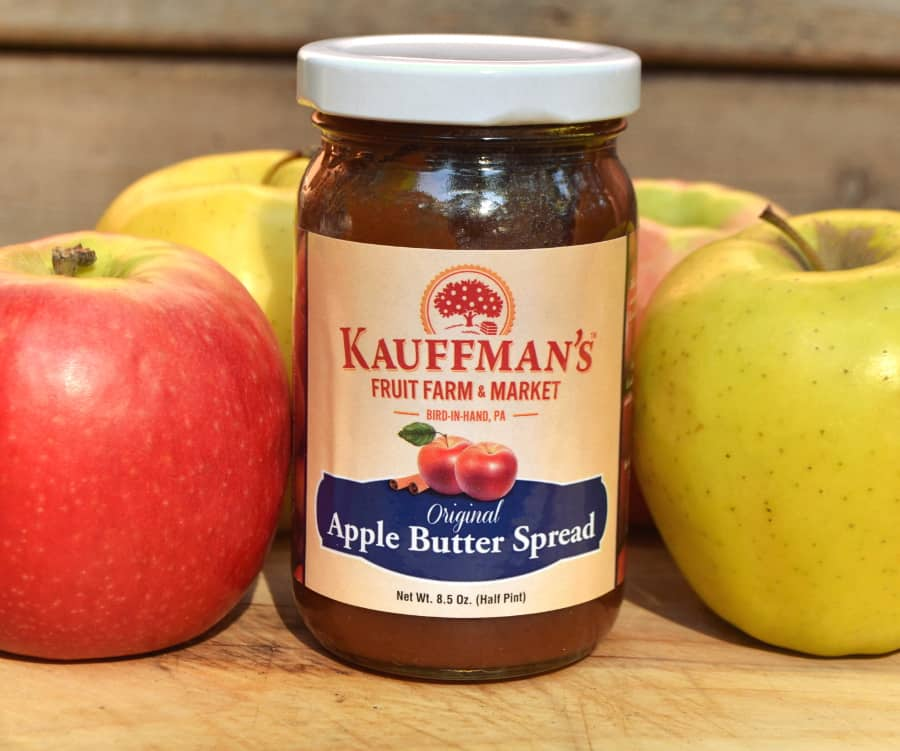 Apple Butter - Kauffman's Fruit Farm Gift of Orchard Samples - Kauffman's Fruit Farm & Market Apple Butter - Pennsylvania Dutch Apple Butter - craftycookingmama.com