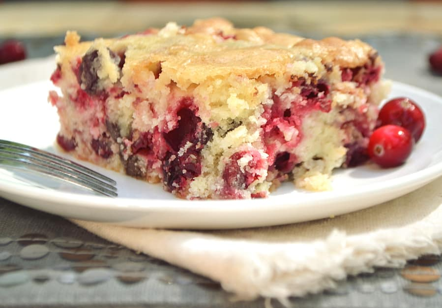 A Simple Yet Delicious Ery Moist Cake Booming With Flavor From Tart Fresh Cranberry And Decadent