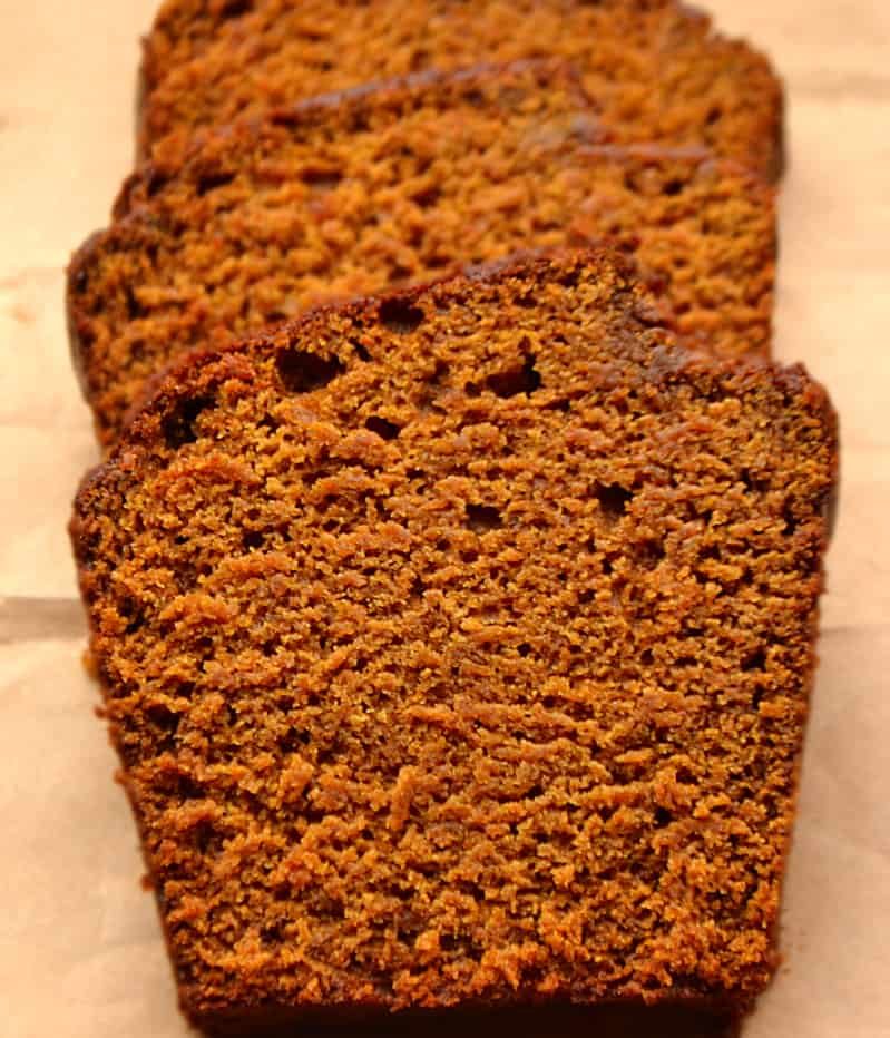 Pumpkin Molasses Quick Bread | Moist & Flavorful | Fabulous Fall Baking | www.craftycookingmama.com