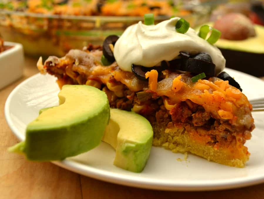 Tamale Pie | Tamale Casserole | Quick, Easy & Delicious Dinner Using Rotel | www.craftycookingmama.com | #yesyouCAN