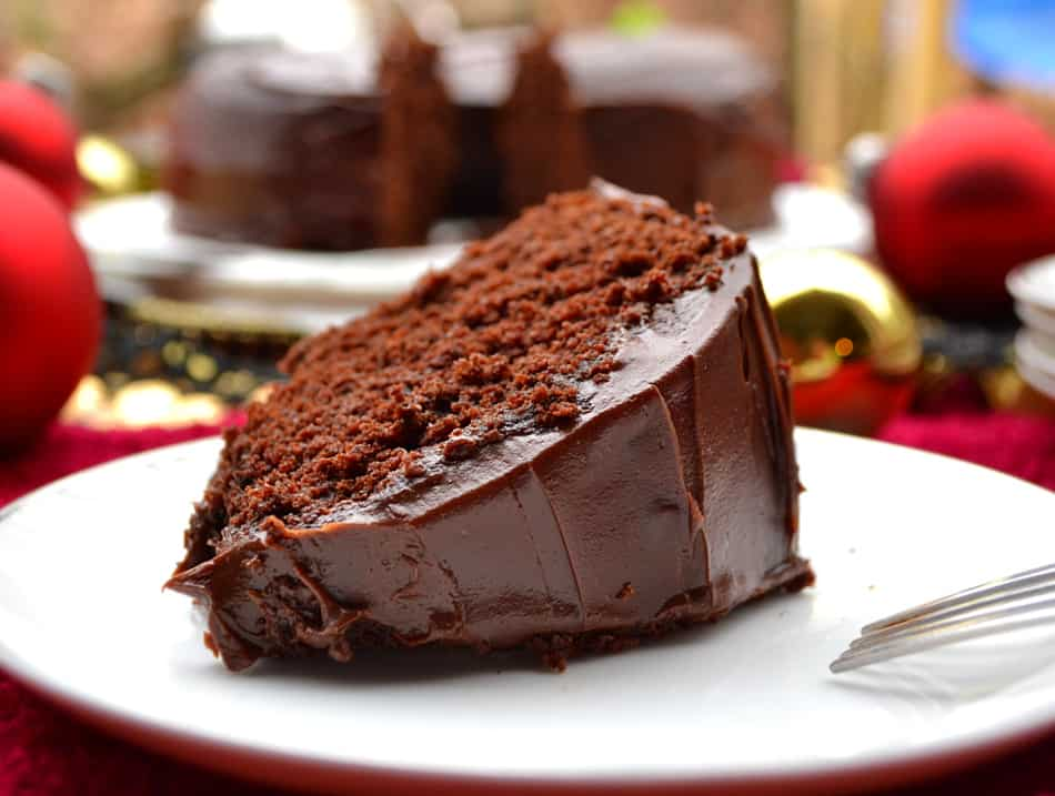 Rich Chocolate Cake With Coffee