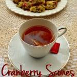 Cranberry Chocolate Chip Drop Scones | Easy, Quick, No Knead Scones | Tea Time or Anytime Scones | www.craftycookingmama.com