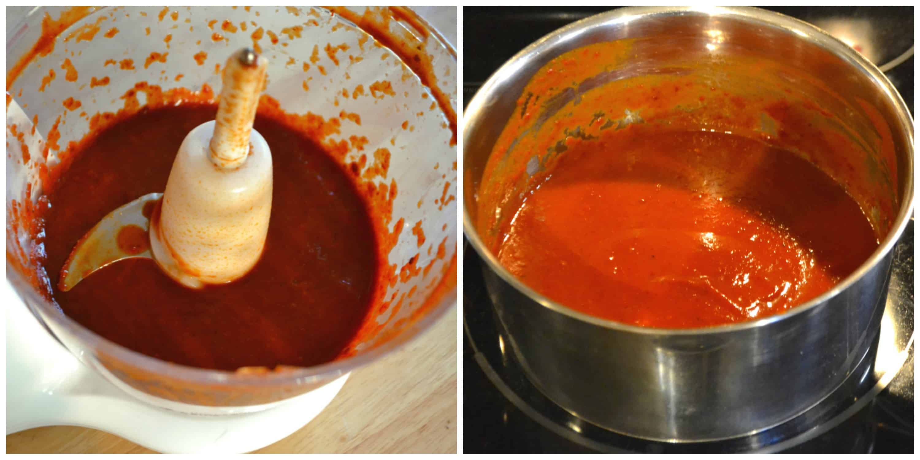 Easy Peasy Homemade Chipotle Hot Sauce | Made With Canned Chipotle Peppers | www.craftycookingmama.com