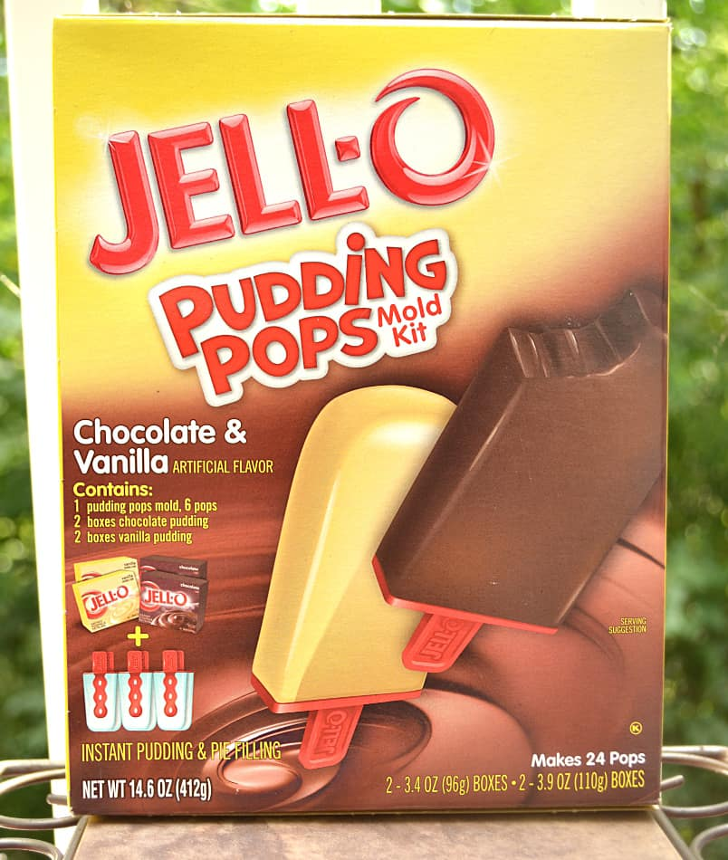 Jello Pudding Pop Recipe Creations. Spumoni with pistachio pudding, chocolate, cherries & nuts | www.craftycookingmama.com