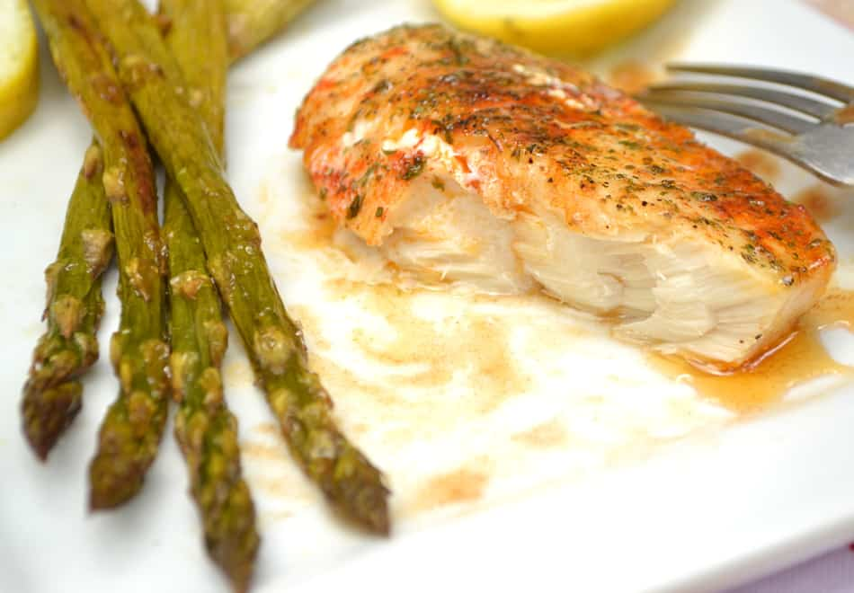 Baked Haddock or White Fish with Brown Butter. Simple, delicious, nutritious | www.craftycookingmama.com