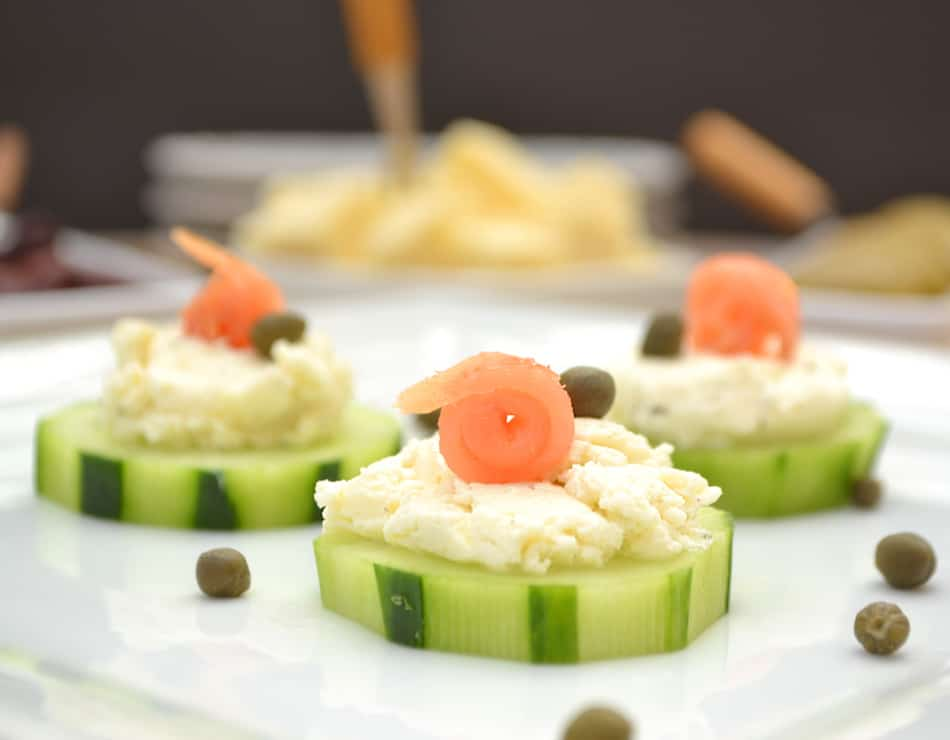 Cucumber hors d 39 oeuvres crafty cooking mama for Hor d oeuvres recipes