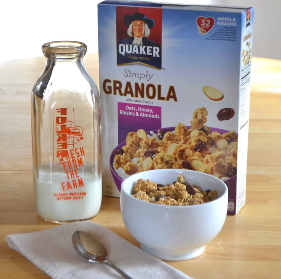 Quaker® Simply Granola Oats - Delicious Breakfast Cereal