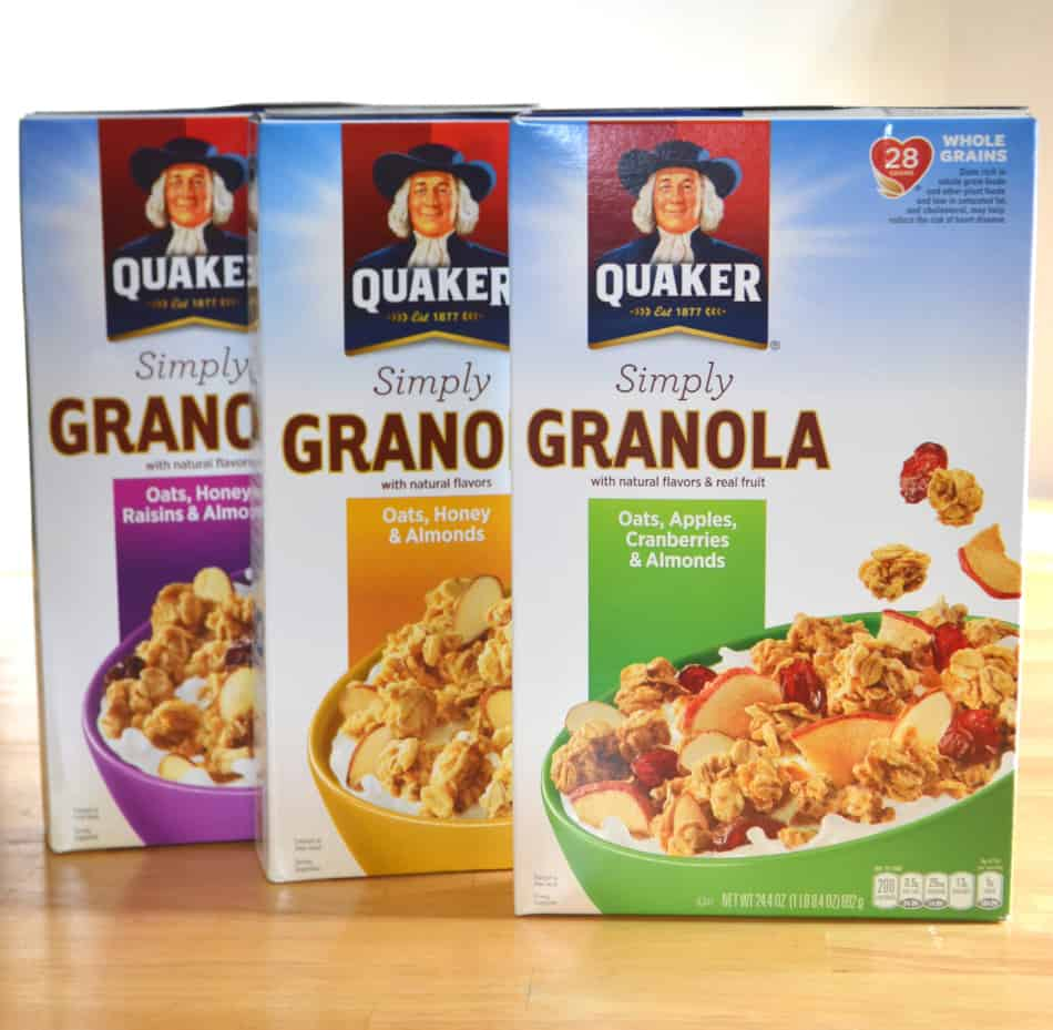 Quaker® Simply Granola at Walmart