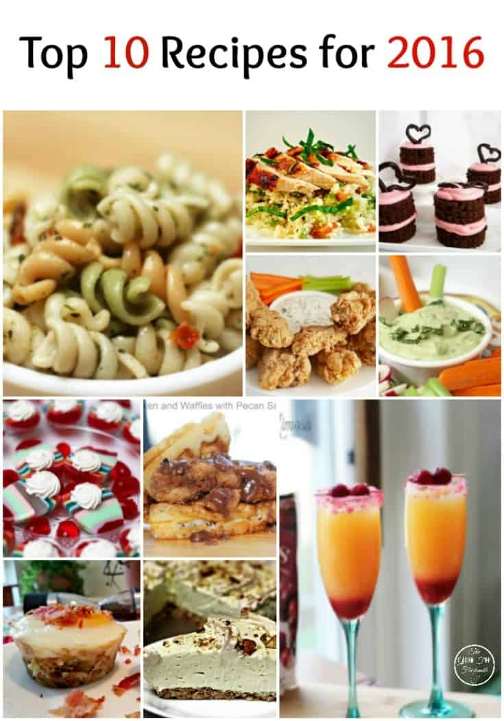 Top 10 Recipes for 2016 | Gluten-Free Foodsmith