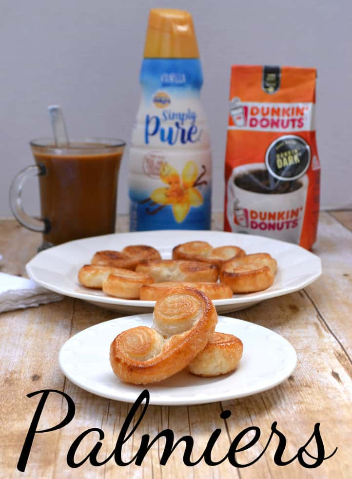 Palmiers - A French Pastry that's fancy but not fussy. Buttery, flaky, delicate & delicious   www.craftycookingmama.com