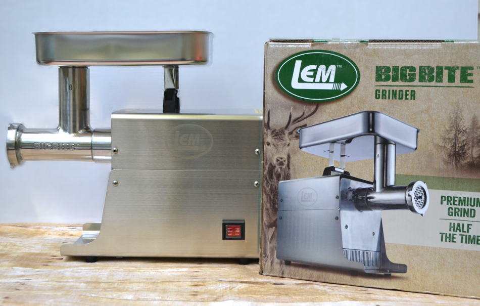LEM Big Bite Meat Grinder | www.craftycookingmama.com