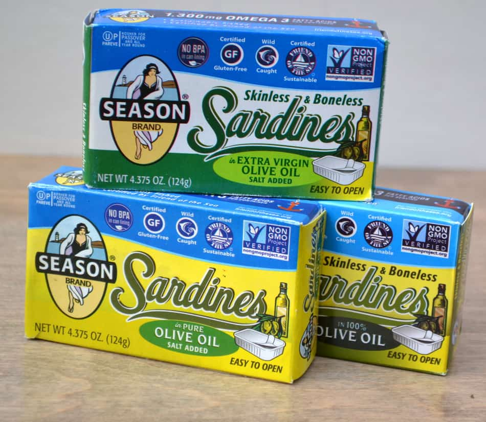 Season Sardines | www.craftycookingmama.com